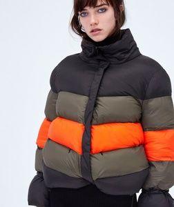 844dd014 Zara Jackets & Coats | Block Color Puffer Jacket | Poshmark